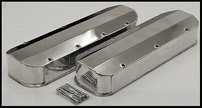 BBC BIG BLOCK CHEVY 427 454 496  FABRICATED TALL VALVE COVERS 8092-2P