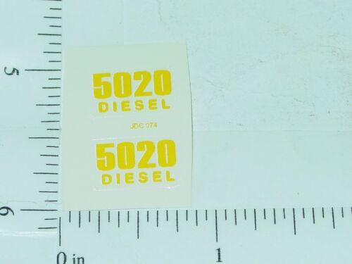 John Deere 5020 Diesel Model Number Stickers      JD-420