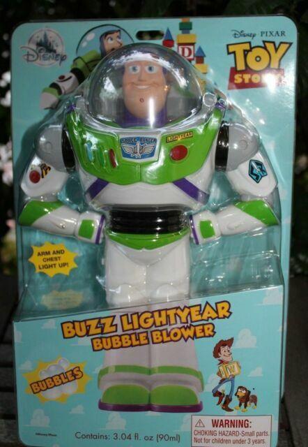 Toy Story Character Bubble Blower Glow Wand Disney Toy Buzz Lightyear