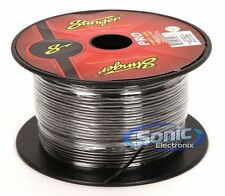 Stinger SPW318BK 500 Ft. Roll of Pro Series Black 18 AWG Gauge Primary Wire