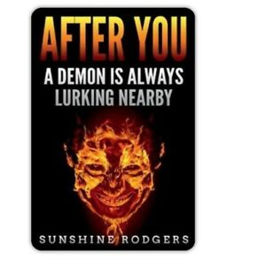 A-4X6-magnet-based-on-the-book-034-After-You-A-Demon-is-Always-Lurking-Nearby-034