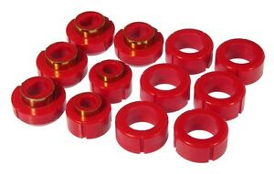 1982-2004-S10-S15-Standard-Cab-2WD-4WD-Red-Body-Mount-Bushing-Kit-Prothane-7-115
