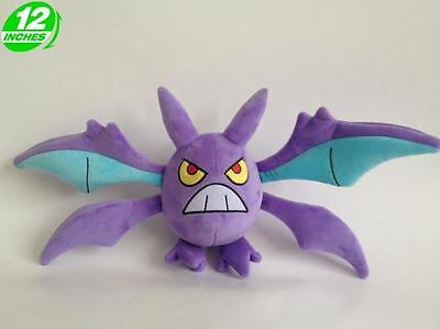 Pokemon Inspired Plush Crobat Doll