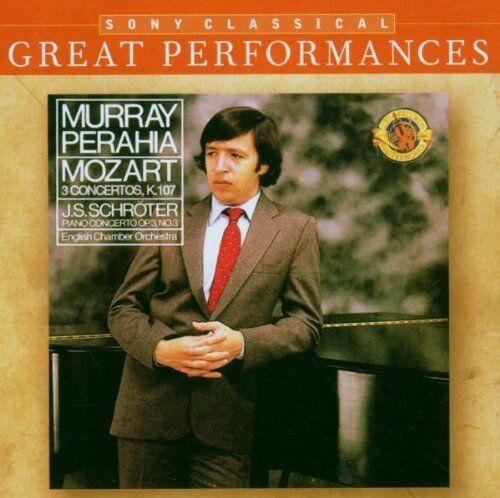 Wolfgang Amadeus Mozart - Great Performances - Piano Concertos (CD)