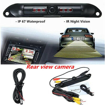 Ebay Motors Exterior Car License Plate Rear View Reverse Backup Hd Camera Ir Night Vision Waterproof Consumers First