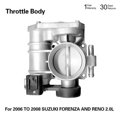 Throttle Body with 2-year Warranty for 2006-2008 SUZUKI FORENZA and Reno 2.0L