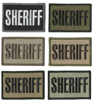 BuckUp Tactical Morale Patch Hook State Trooper Patches 3x2/""