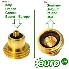 LPG GPL Gas ACME adaptor with M10 thread. Eastern EU to GERMANY, BELGIUM,