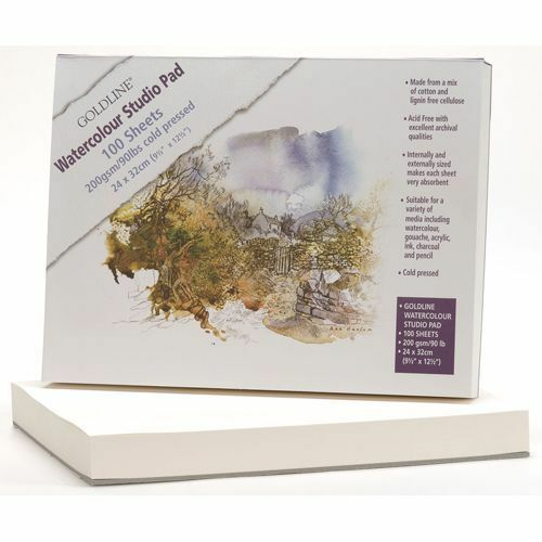 Goldline Watercolour Pad - 100 Sheets! - Not Surface