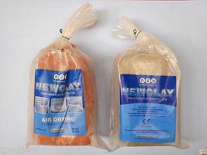 Dark Grey Potclay 1kg Air Dry Modelling Clay like Newclay