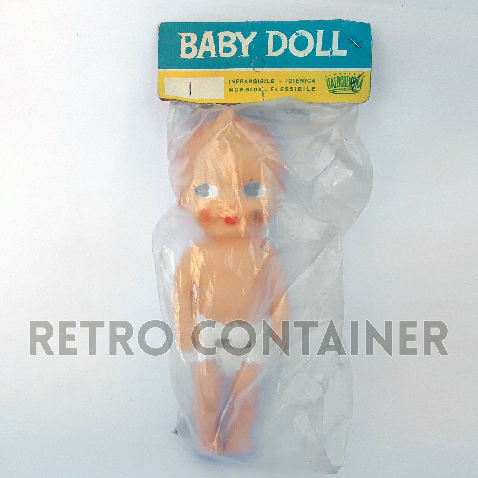 Vintage Italian Doll BABY DOLL ITALOCREMONA Bambola Nuova Sigillata Sigillata Sigillata MISB MOC NEW c95f41