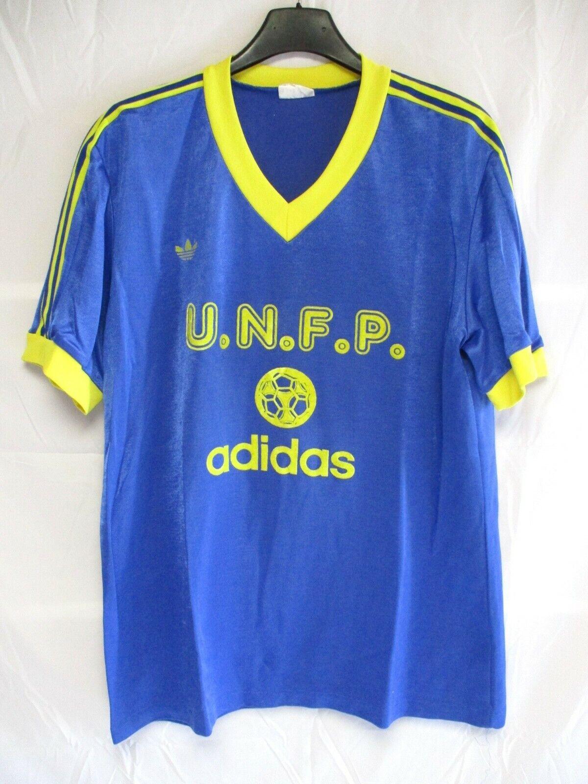 Maillot F.C SOCHAUX training U.N.F.P ADIDAS vintage shirt trikot Ventex maglia L