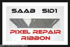 SAAB SID1 93 95 INFORMATION DISPLAY COMPUTER CLOCK LCD PIXEL REPAIR RIBBON CABLE