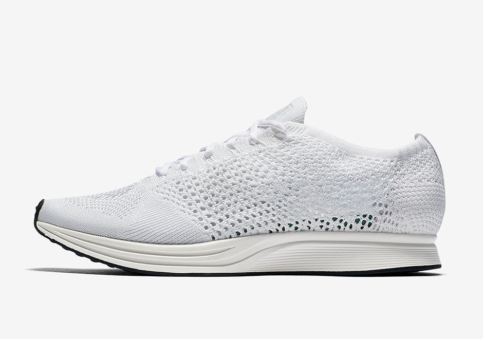 Nike flyknit racer vela scarpe da msrp uomo bianco vela racer platino 526628   558256