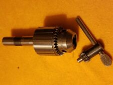 "Jacobs 34-33C* 1//32/""-1//2/""Heavy Duty Taper Mounted Drill Chuck w//Key /& Collar"