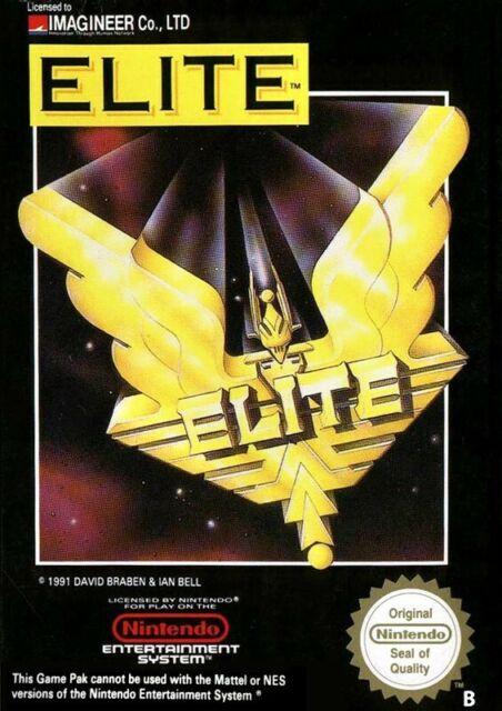 NINTENDO NES JEU-Elite PAL-B avec neuf dans sa boîte très bon état