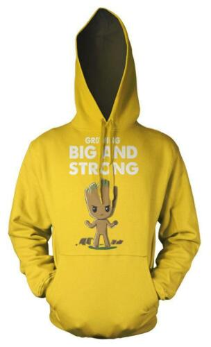 Guardians Galaxy Groot Growing Big And Strong Kids Hoodie