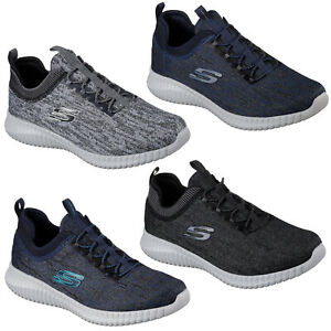 Details about Skechers Elite Flex Hartnell Trainers Mens Memory Foam Sports Fashion Shoes