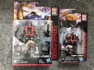 Transformers-Dinobot-Power-of-the-Primes-Sludge-amp-Slash