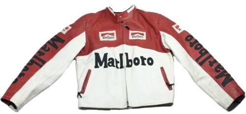 ULTRA RARE Vera Pelle Italy Marlboro Racing Vintag