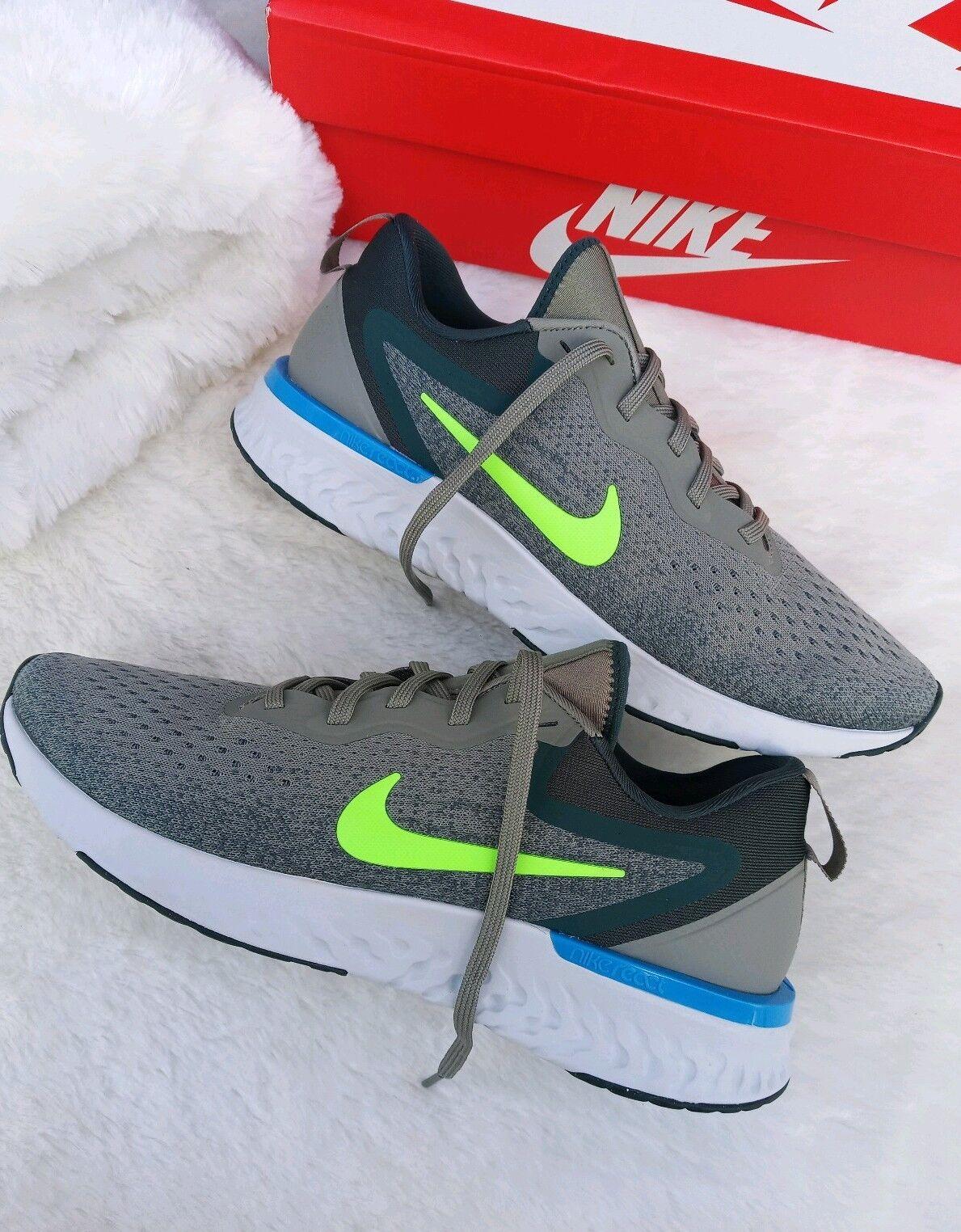 official photos 8d291 0677b 10 para para para Hombre Nike Odyssey A09819 404 reaccionar Correr Casual  Verde Gris Azul 2018