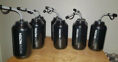 Wow Protein water Bottle With Straw great for boxing gym walking