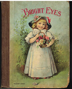 Bright-Eyes-Illustrated-Stories-for-Little-People-1891-Colored-Plates-Rare-Book