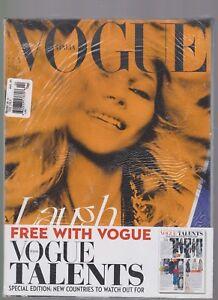 Vogue Italia Revue #786 Février 2016, sous Cellophane Avec Gratuit Vogue Talents