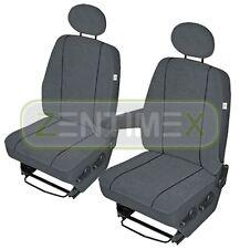 Sitzbezüge Schonbezüge SET EA VW T5 Transporter Stoff dunkel grau