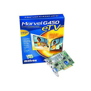 MATROX Marvel G450 eTV Drivers for Windows 7