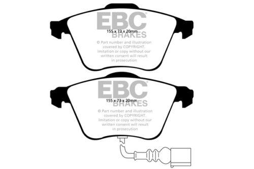 EBC Frein Avant Kit Disques /& Plaquettes Pour Audi S3 8P 2.0 Turbo 265 2006-2012