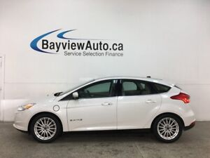 2015 Ford Focus Electric - HTD LEATHER! NAV! ALLOYS! 41,000KMS!