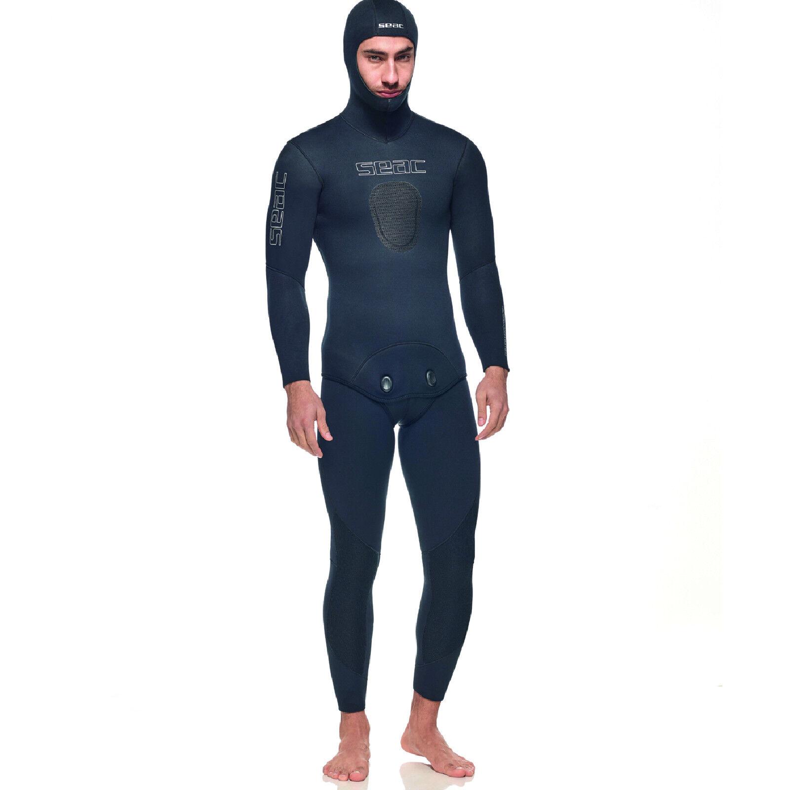 RO1 Seac Sub Muta APNEA PESCA RACE FLEX confort giacca 7mm pantalone 5mm