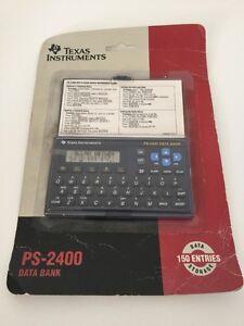 Texas Instruments PS-2400 Calculator Data Bank New