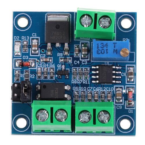 PWM To Voltage Converter Module 0/%-100/% to 0-5V//0-10V for Digital Analog  9H Jq