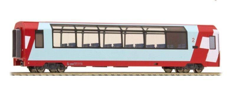Bemo 3689128 RhB Bp 2538 Glacier-Express Panoramawagen 2.Klasse  | Ideales Geschenk für alle Gelegenheiten