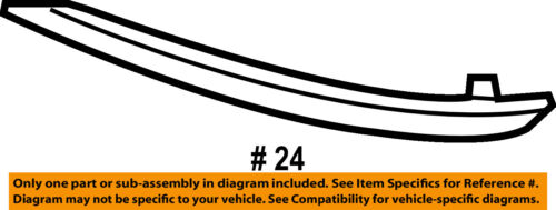 HYUNDAI OEM 15-17 Sonata-Bumper Trim-Reflector Right 92406C1000