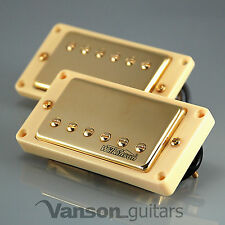 NEW Wilkinson 'HOT' GOLD Humbucker Pickup SET for Gibson, Epiphone ®* MWCHB IV