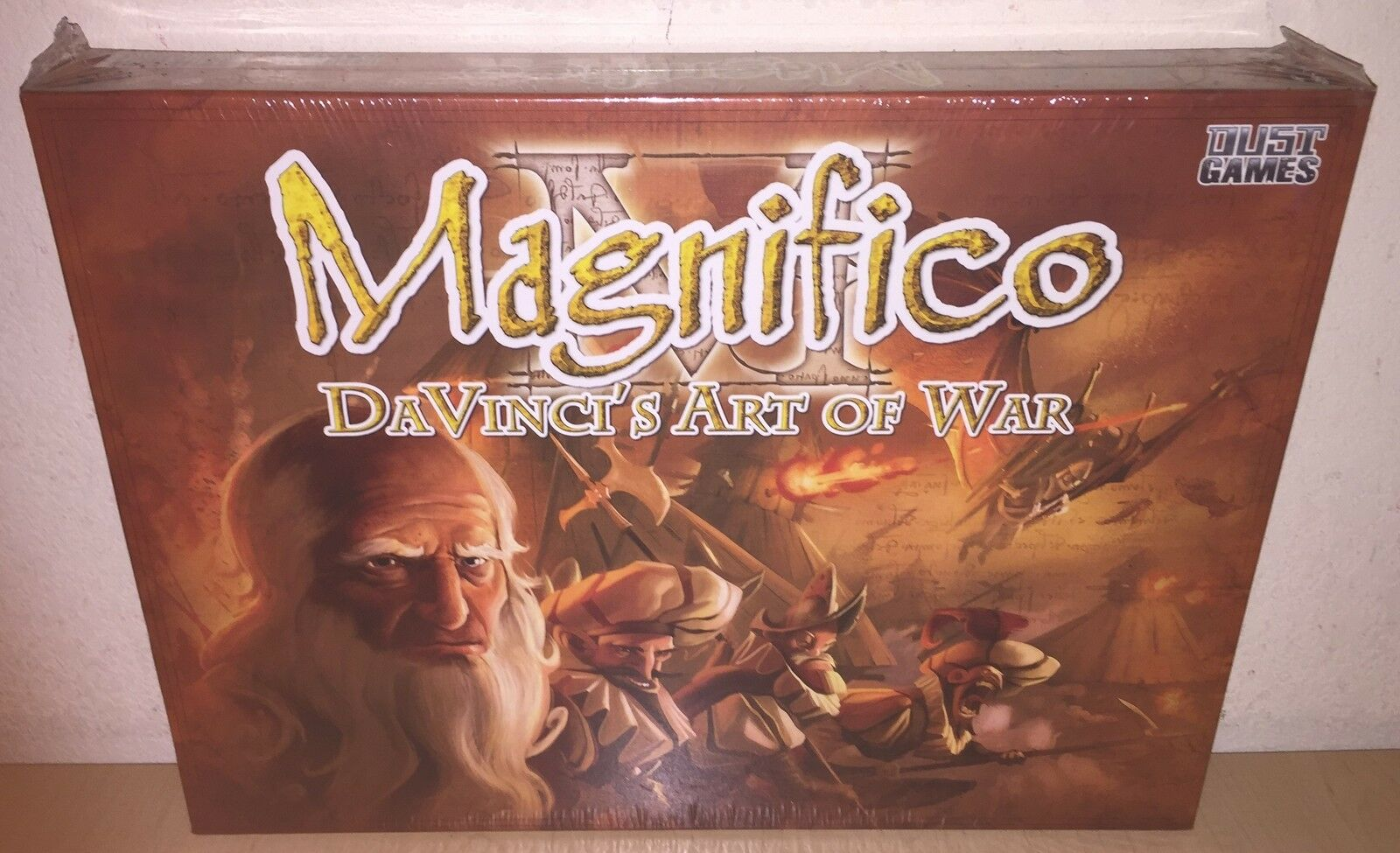 Board Game Magnifico DaVinci's Art of War Dust Games Sealed Brand NEW USA