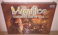 Board Game Magnifico Davinci's Art Of War Dust Games Sealed Brand Usa