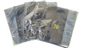 "3.1mils 10 ESD Anti-Static Shielding Bags 24/""x24/"" in Inner Diameter ,Open-Top"