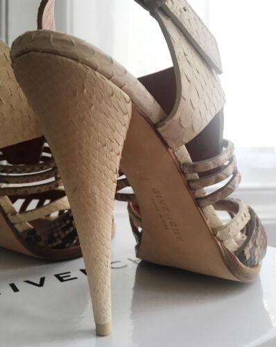 Givenchy 37 Python Eu Sandaler Størrelse 4 Uk wxZqC7Oawz