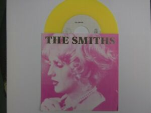 Smiths-Sheila-Take-A-Bow-NEW-MINT-German-import-7-inch-single-on-YELLOW-VINYL