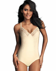 Maidenform Body Briefer All Around Lace Shape wear Firm Control...