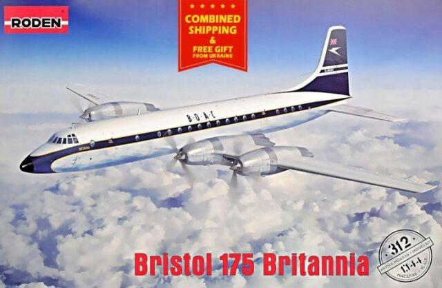 Roden 1//144 Bristol 175 Britannia African Safari # 326