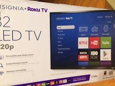 """Insignia™ - 32"""" Class (31.5"""" Diag.) - LED - 720p - Smart - Roku TV - Black"""