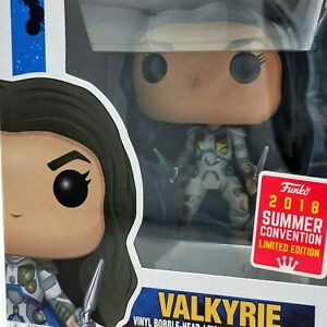 Marvel Thor Ragnarok Valkyrie 336 Summer Convention 2018 Funko Pop Vinyl 889698307628 Ebay