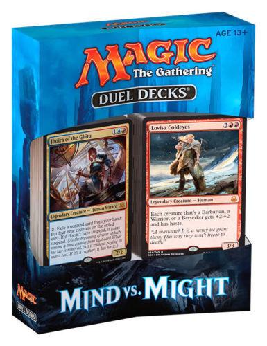Brand New Factory Sealed MTG Duel Decks Mind vs Might Free Ship!