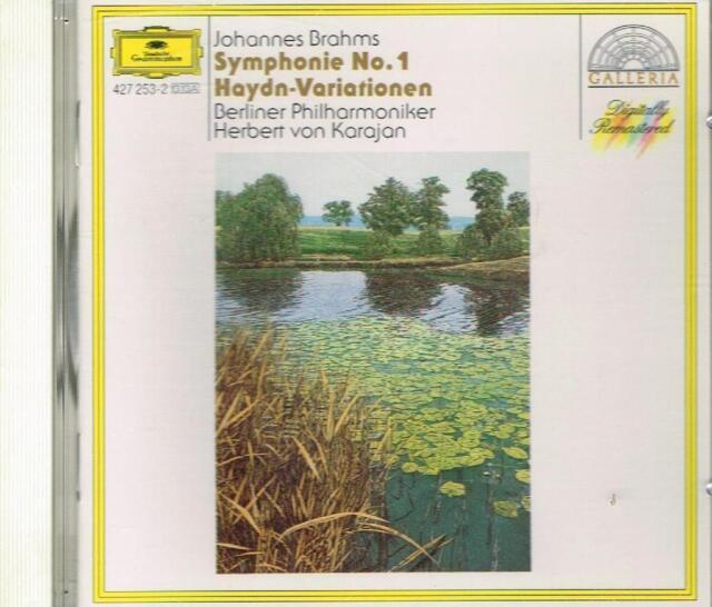 Brahms: Symphony (Symphony) No 1, Variation Haydn/Karajan - CD