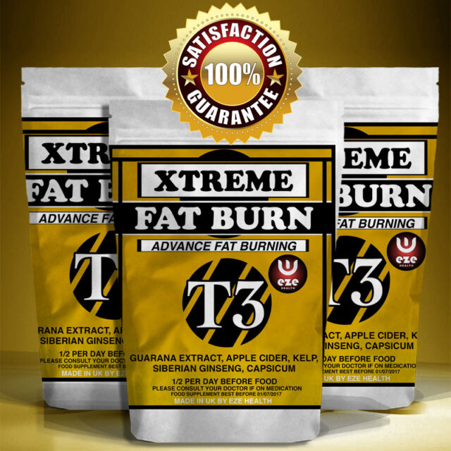 Weight Loss Pills Strong Fat Burners T3 Slimming Diet Lose Weight Quickly Safe
